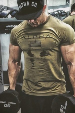 Alpha male optima forma T-shirt